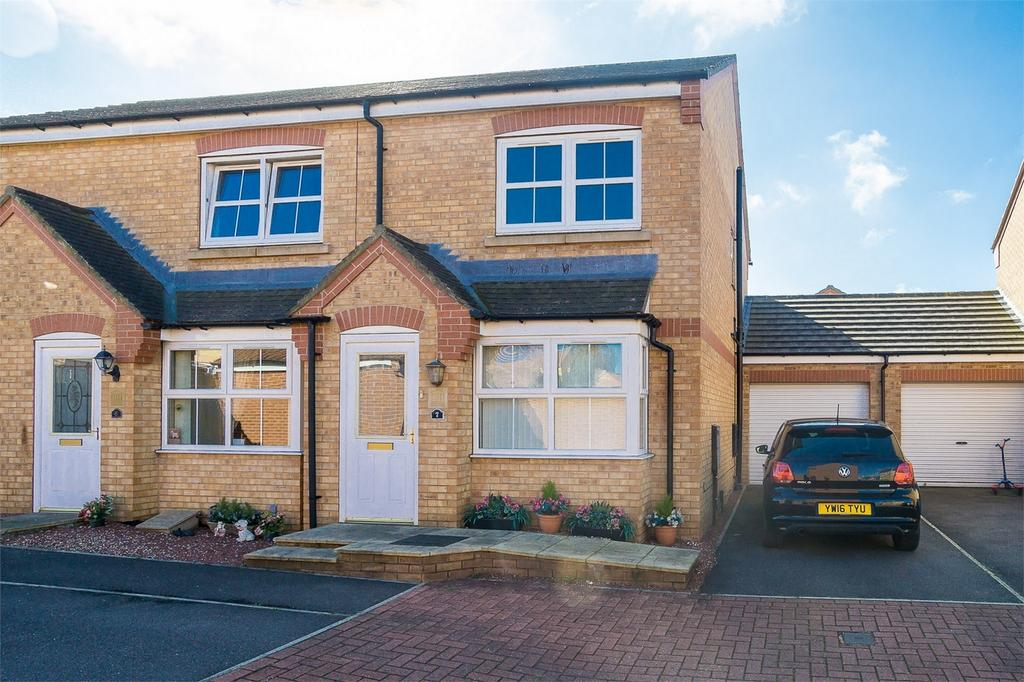 2 Bedrooms End Of Terrace House for sale in Paddock Court, WITHERNSEA, East Riding of Yorkshire