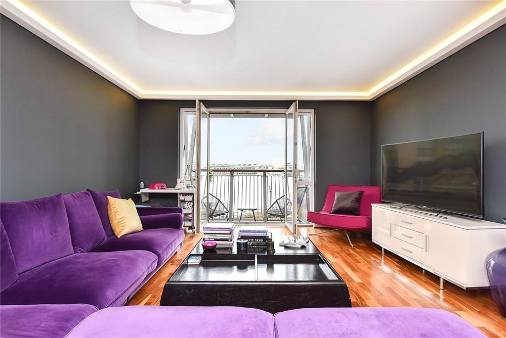 2 Bedrooms Flat for sale in Vanguard Building, 18 Westferry Road, London