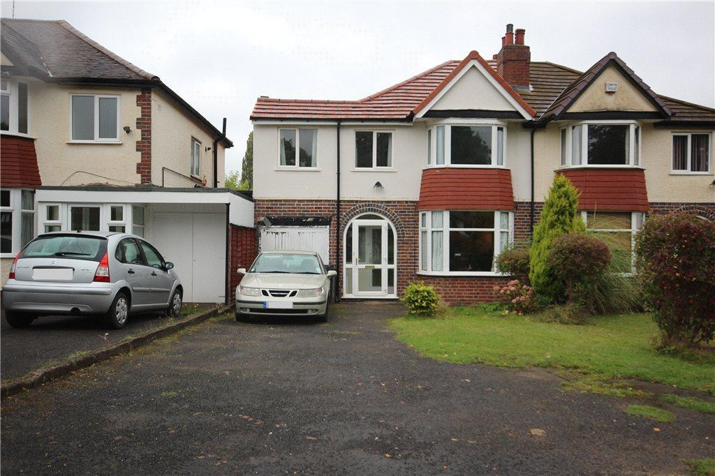 3 Bedrooms Semi Detached House for sale in Streetsbrook Road, Shirley, Solihull, West Midlands, B90