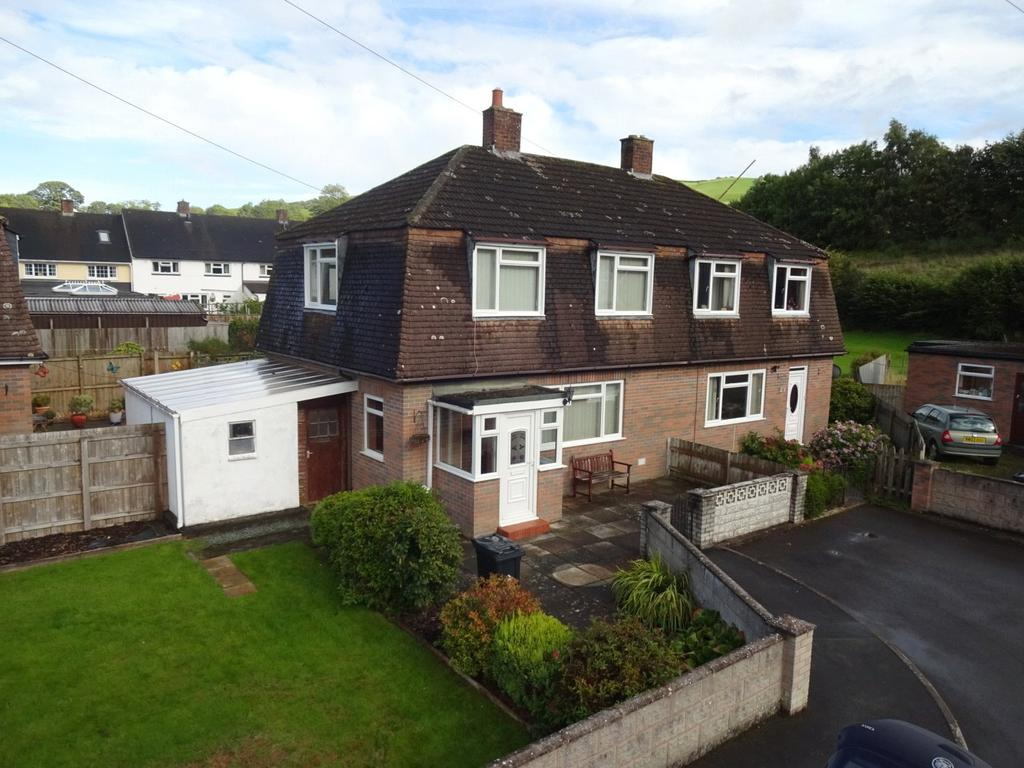 3 Bedrooms Semi Detached House for sale in Garth Owen, Newtown, Powys