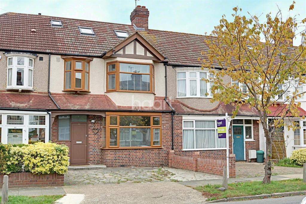 4 Bedrooms Terraced House for sale in Southway, Raynes Park, London, SW20