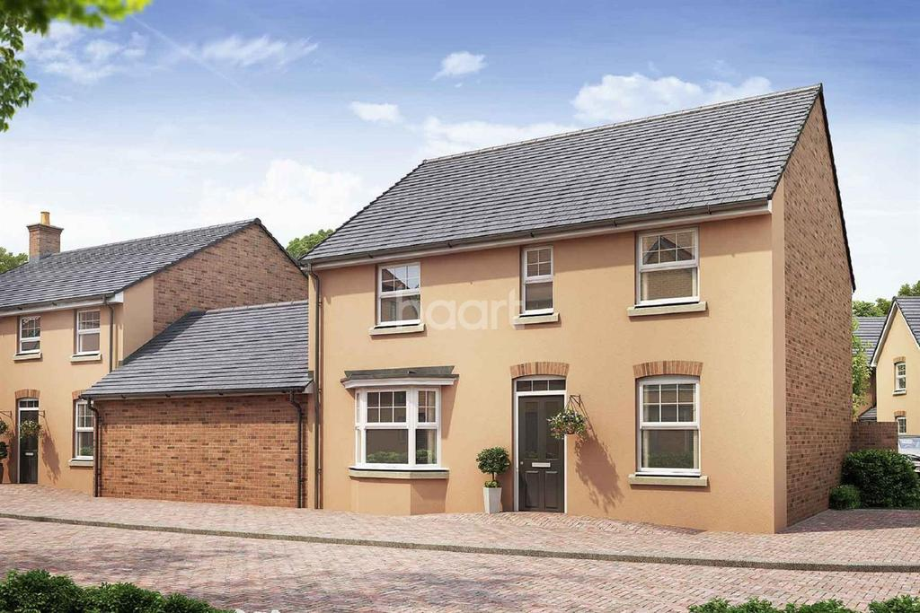 4 Bedrooms Detached House for sale in The Shelford, King's Wood Gate, Monmouth