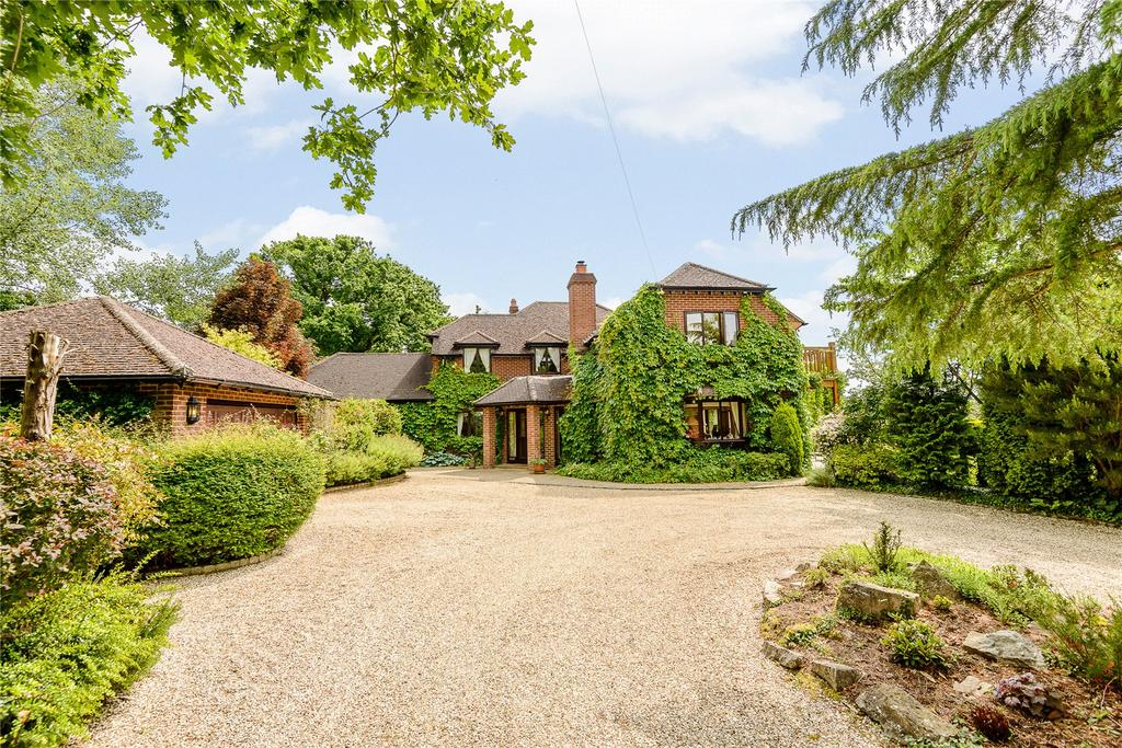 6 Bedrooms Detached House for sale in Hill Farm Lane, Binfield, Berkshire