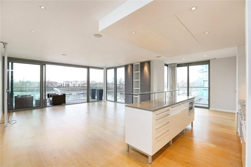 3 Bedrooms Flat for sale in Chapelier House, Riverside Quarter, Wandsworth, London, SW18