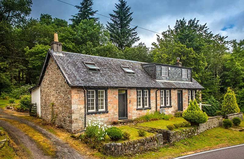4 Bedrooms Detached House for sale in Sandhole Cottage, Furnace, Inveraray, Argyll, PA32