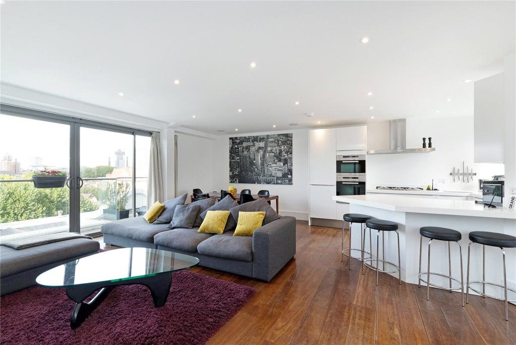 3 Bedrooms Penthouse Flat for sale in Cambridge Mansions, Cambridge Road, Battersea, London, SW11