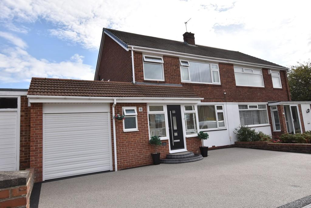 3 Bedrooms Semi Detached House for sale in Weardale Avenue, South Bents