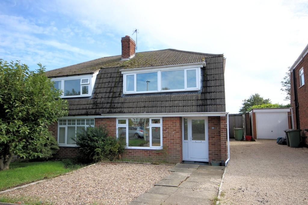 3 Bedrooms Semi Detached House for sale in Vicarage Close, Newbold Coleorton