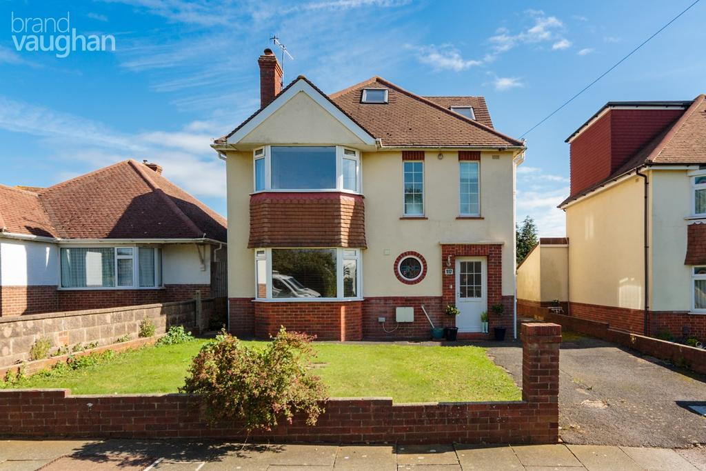 5 Bedrooms Detached House for sale in Foredown Drive, Portslade, Brighton, BN41