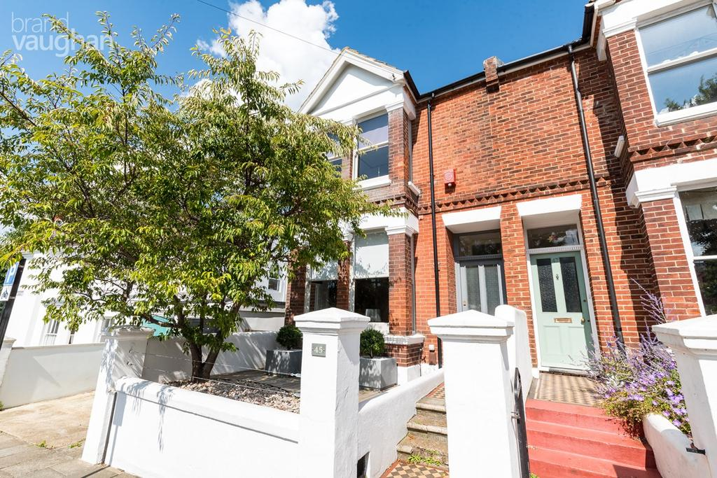 4 Bedrooms End Of Terrace House for sale in Grantham Road, Brighton, BN1
