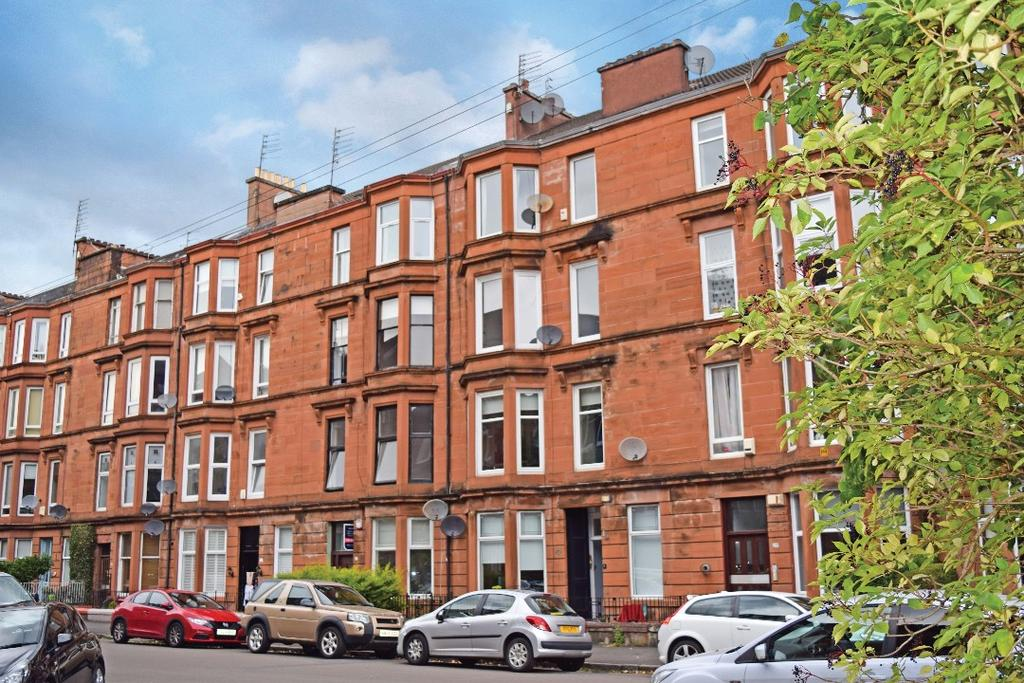 2 Bedrooms Flat for sale in Waverley Gardens, Flat 2/1, Shawlands, Glasgow, G41 2DW