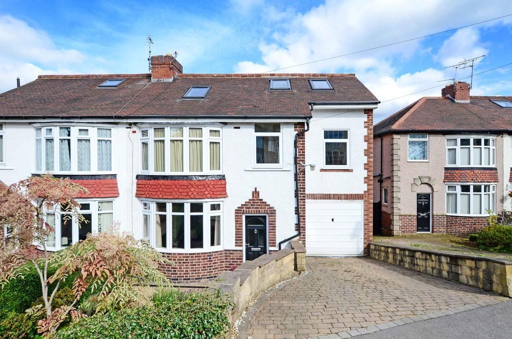 5 Bedrooms Semi Detached House for sale in Den Bank Crescent, Crosspool
