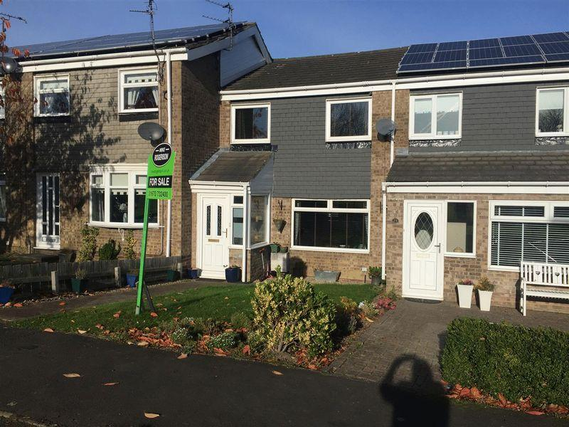 3 Bedrooms Terraced House for sale in Filton Close, Cramlington