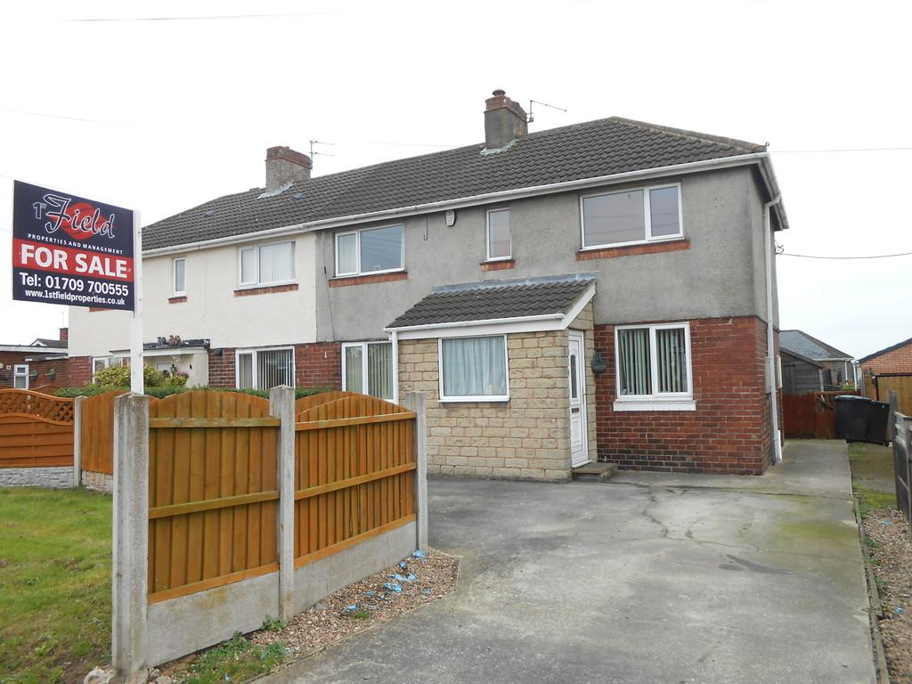 3 Bedrooms Semi Detached House for sale in Brampton Avenue, Thurcroft