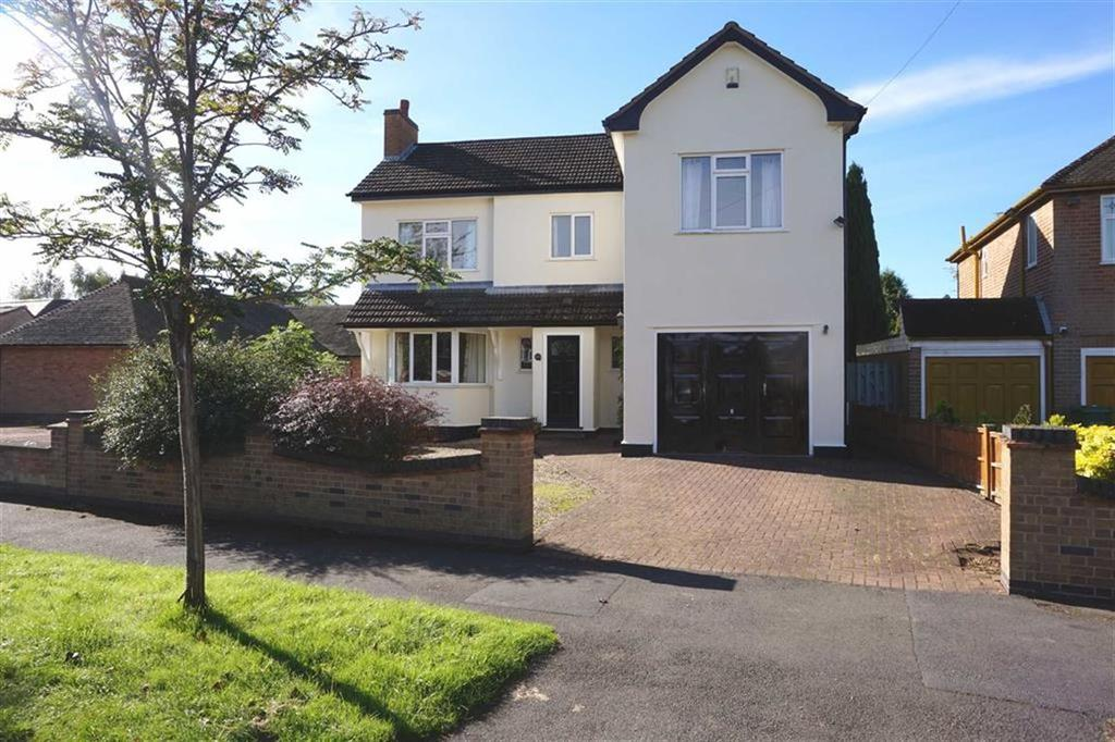4 Bedrooms Detached House for sale in Manor Road Extension, Oadby, Leicester