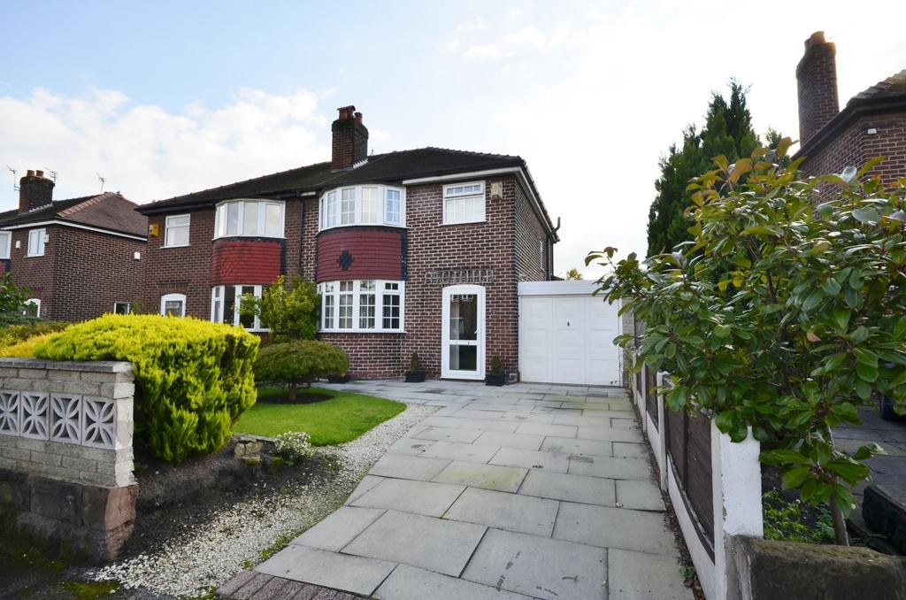 3 Bedrooms Semi Detached House for sale in Woodcote Road, West Timperley, Altrincham