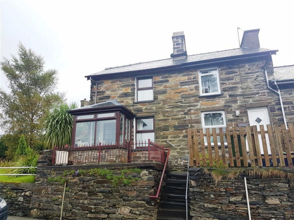 2 Bedrooms End Of Terrace House for sale in Old Highgate, Llan Ffestiniog