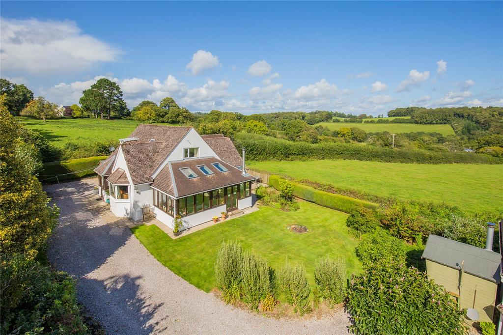 4 Bedrooms Detached House for sale in Dartington, Totnes, Devon, TQ9