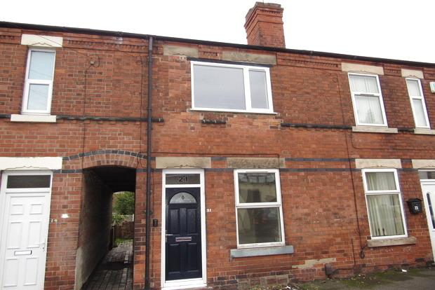 2 Bedrooms Terraced House for sale in Pearson Street, Netherfield, Nottingham, NG4
