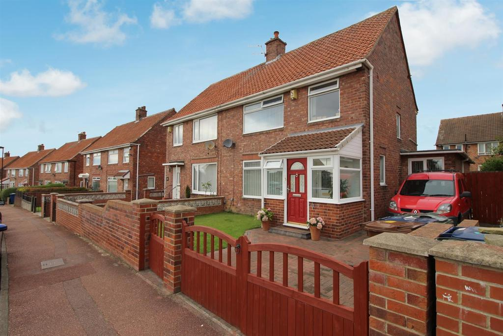 3 Bedrooms Semi Detached House for sale in Roundhill Avenue, Newcastle upon Tyne