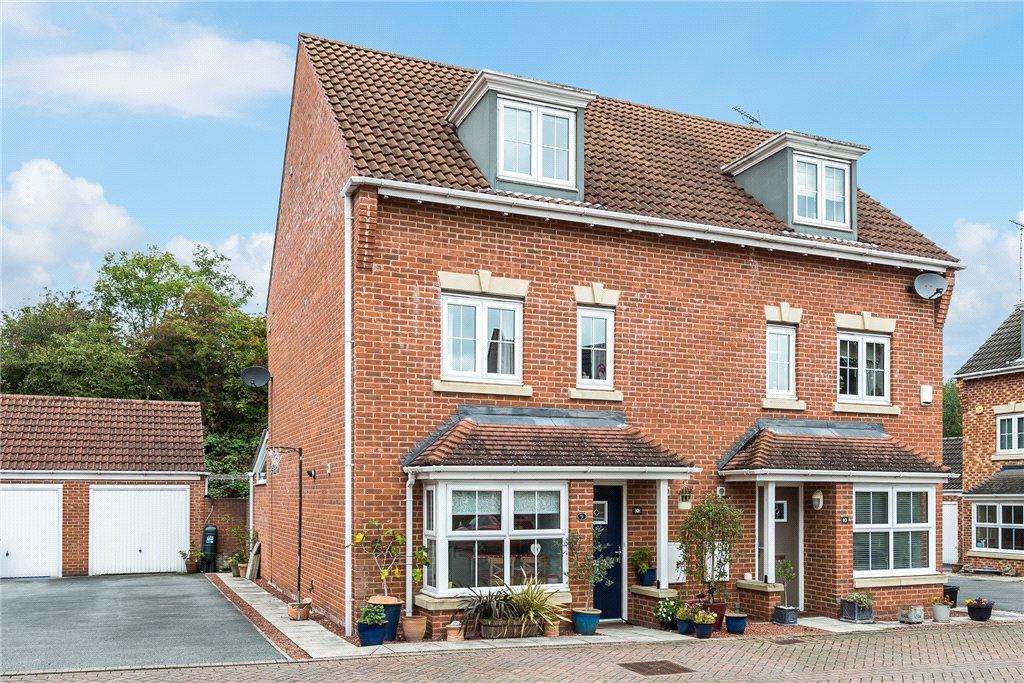 4 Bedrooms Semi Detached House for sale in Guinea Croft, Knaresborough, North Yorkshire