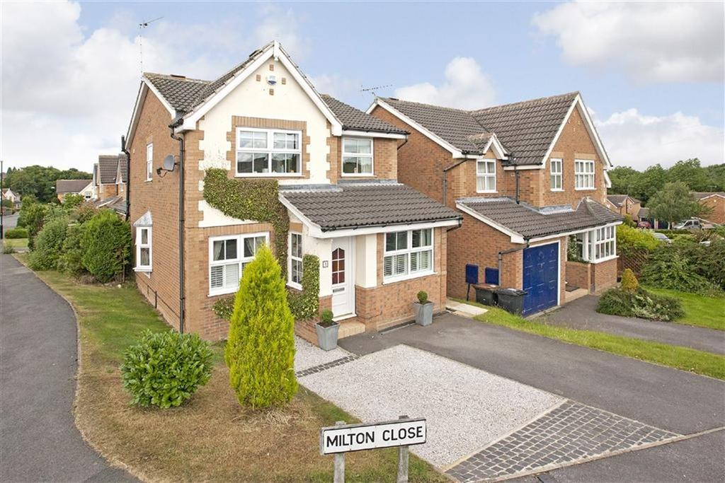 3 Bedrooms Detached House for sale in Milton Close, Harrogate, North Yorkshire