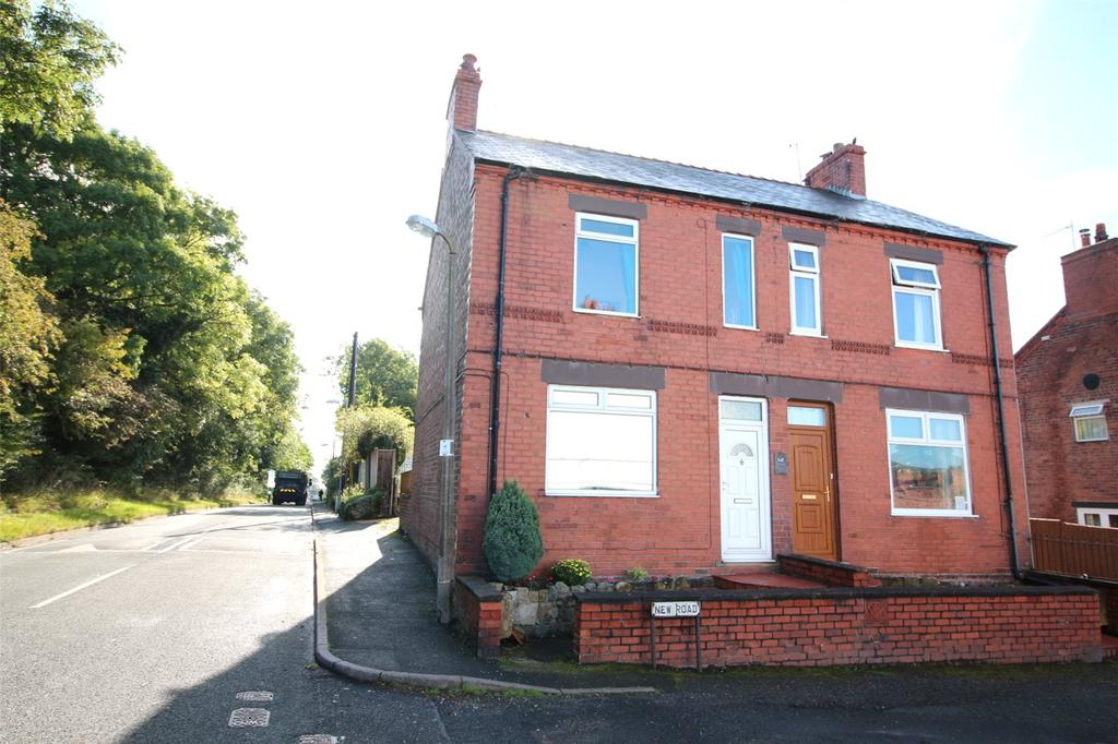 2 Bedrooms Semi Detached House for sale in Gatewen Villas, New Road, New Broughton, Wrexham, LL11
