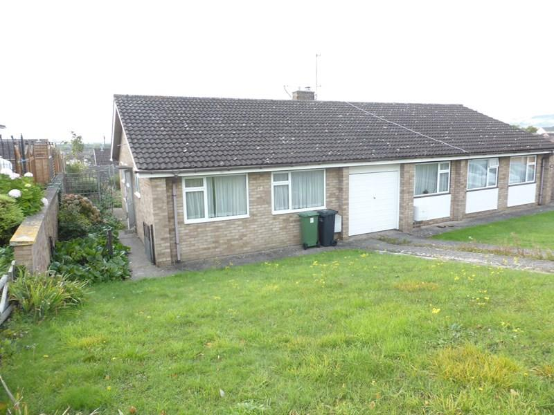 2 Bedrooms Semi Detached Bungalow for sale in Evendene Road, Evesham