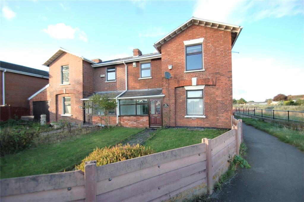 2 Bedrooms Semi Detached House for sale in Dock Cottages, Riverside, Bridgwater, Somerset, TA6