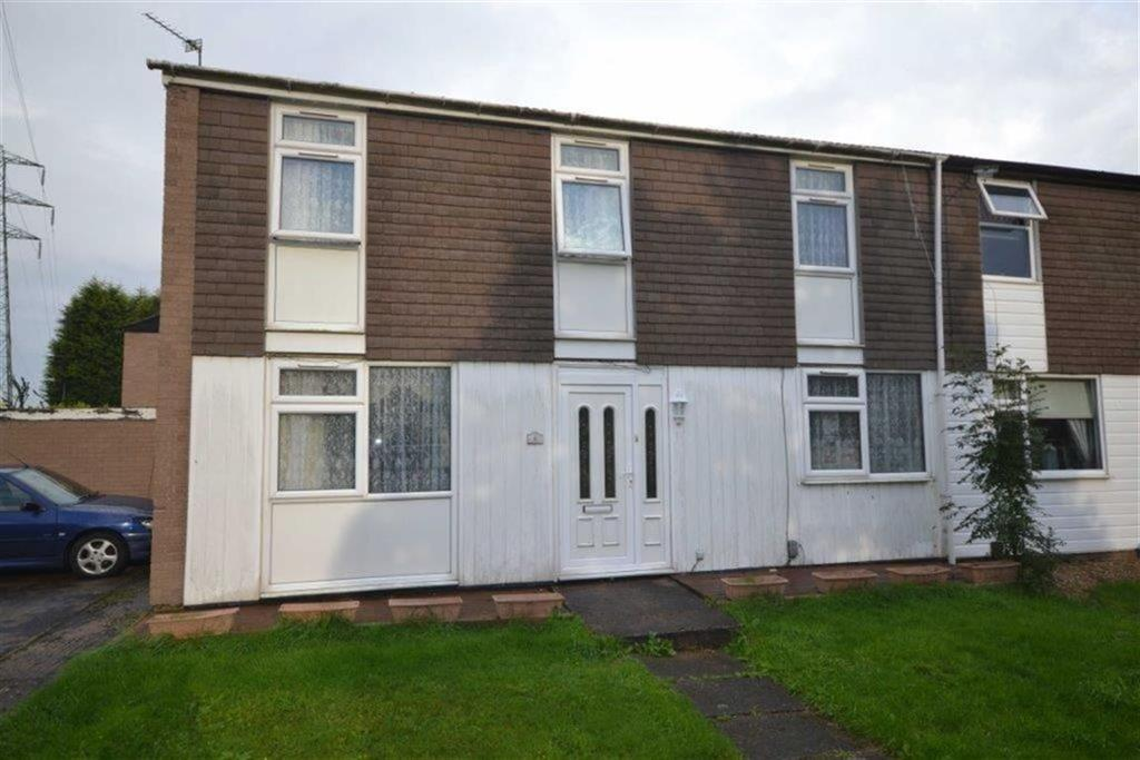 3 Bedrooms End Of Terrace House for sale in Faultlands Close, Whitestone, Nuneaton