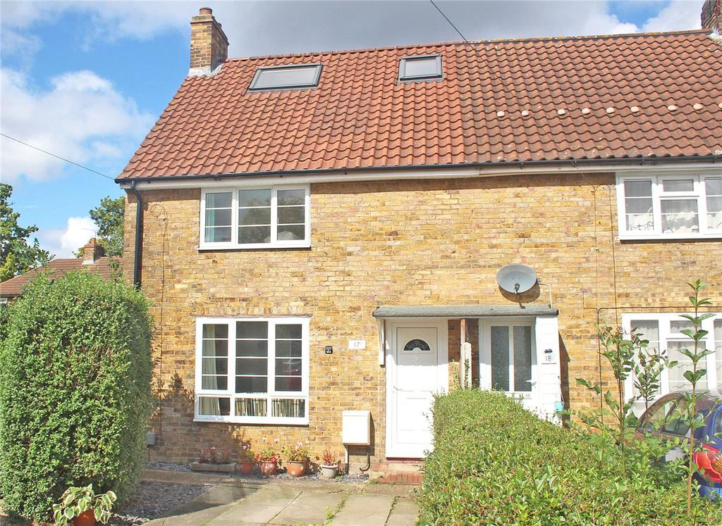 3 Bedrooms End Of Terrace House for sale in Shortlands Green, Welwyn Garden City, Hertfordshire