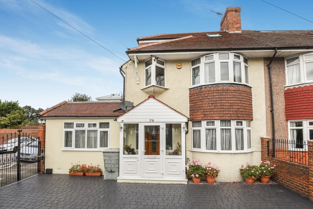 4 Bedrooms Semi Detached House for sale in Wricklemarsh Road London SE3