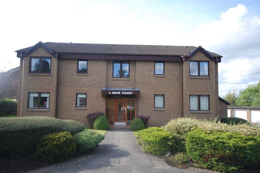2 Bedrooms Ground Flat for sale in 1B Muir Court, Strathdon Avenue, Netherlee, Glasgow, G44 3LZ