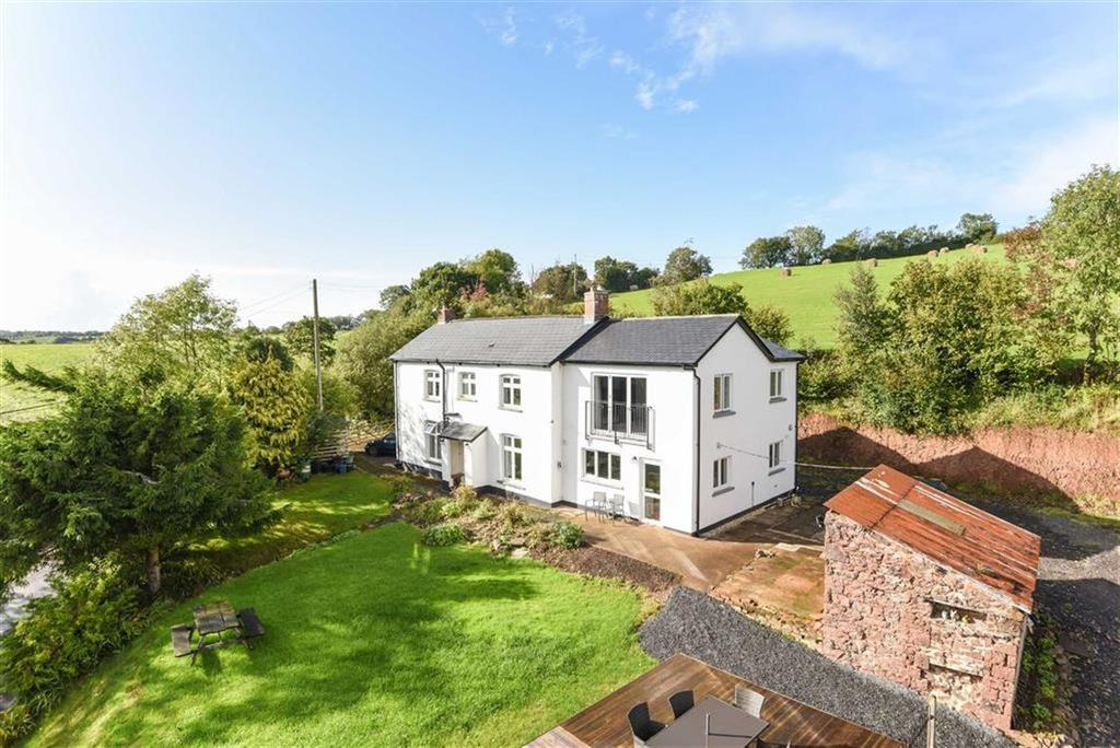 5 Bedrooms Detached House for sale in Cheriton Fitzpaine, Crediton, Devon, EX17