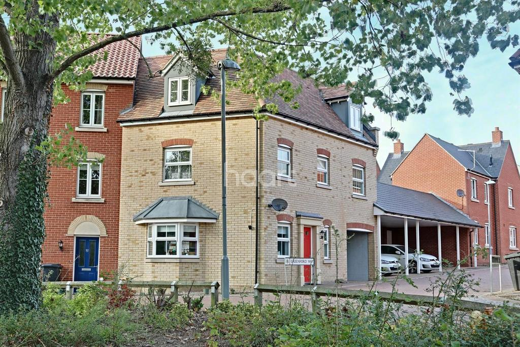 3 Bedrooms Semi Detached House for sale in Greenford Way, Ipswich