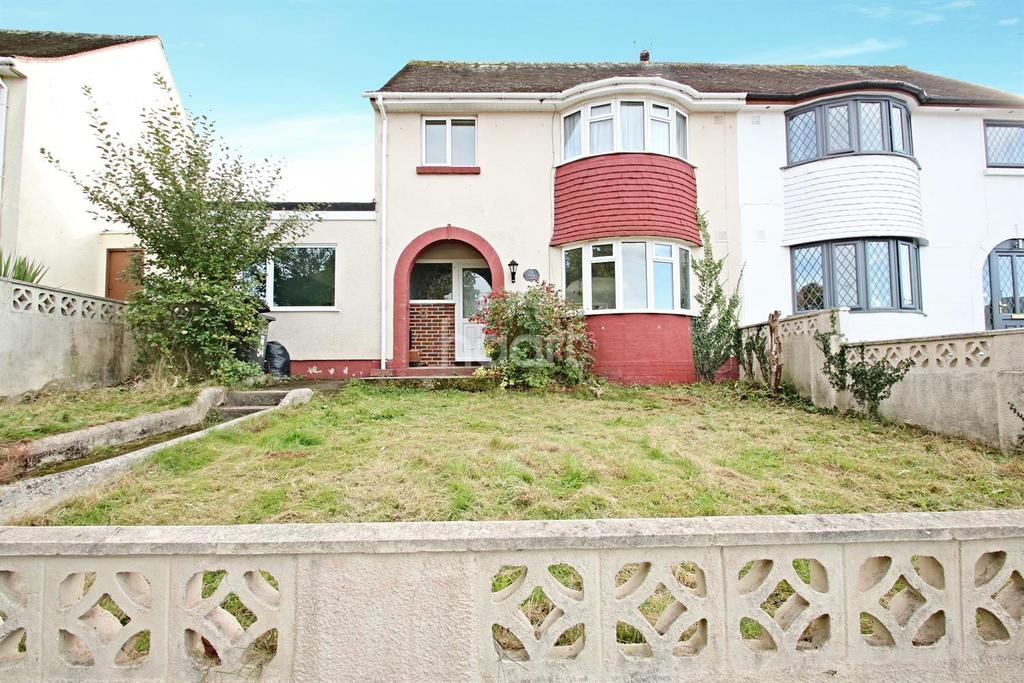 3 Bedrooms Semi Detached House for sale in Tamar Avenue, Torquay