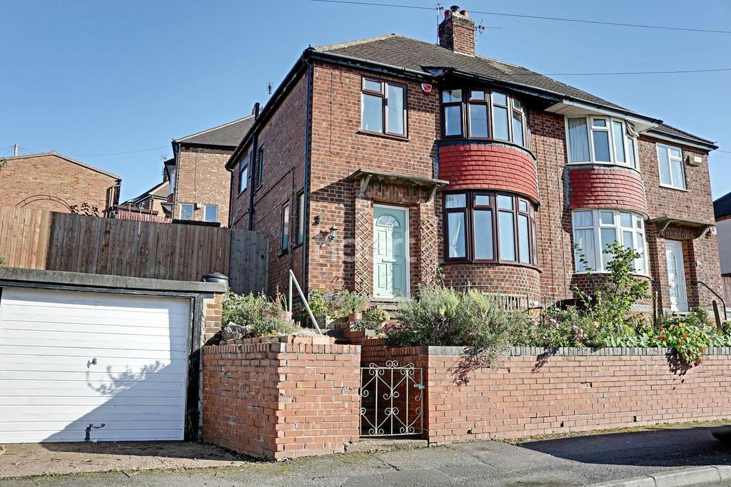 3 Bedrooms Semi Detached House for sale in Blue Bell Hill Road, Thorneywood