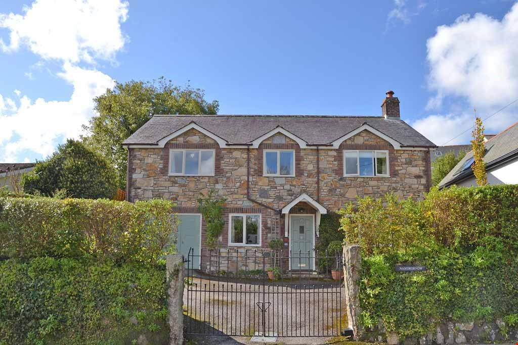 4 Bedrooms Detached House for sale in Vicarage Lane, Lelant, Nr. St Ives, Cornwall, TR26