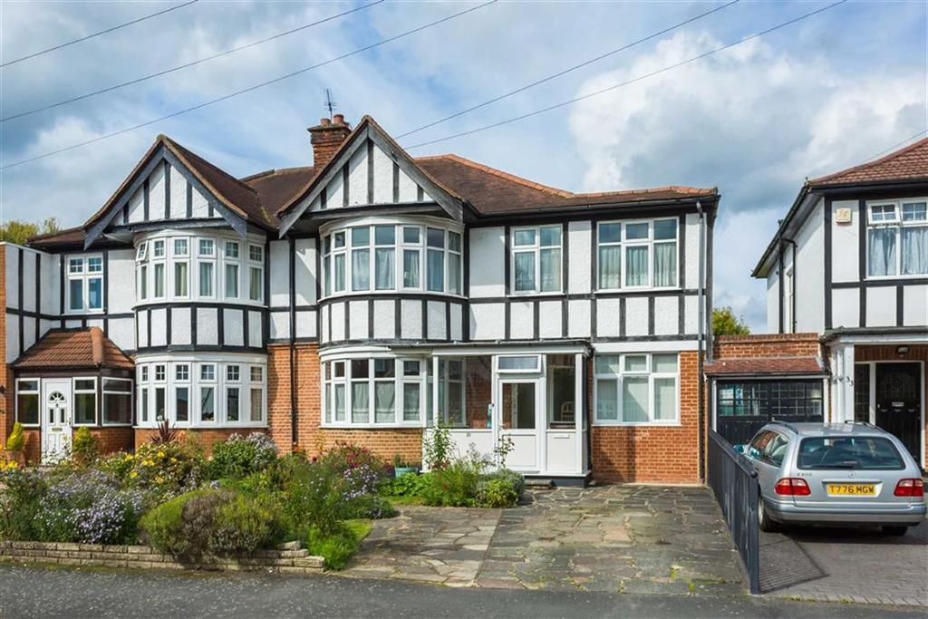 4 Bedrooms Semi Detached House for sale in Lowlands Road, Pinner, Middlesex