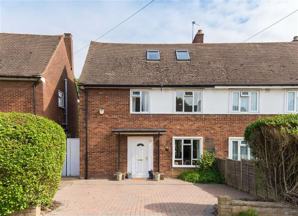 4 Bedrooms Semi Detached House for sale in Coombe Drive, Eastcote, Middlesex