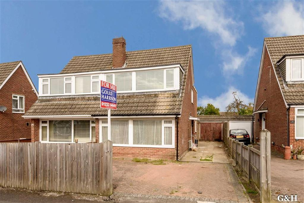 4 Bedrooms Semi Detached House for sale in Cleves Way, Ashford, Kent