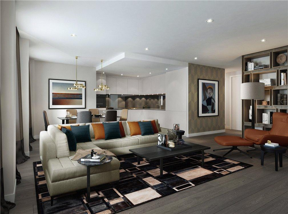 3 Bedrooms Flat for sale in Chancery Lane, London, WC2A