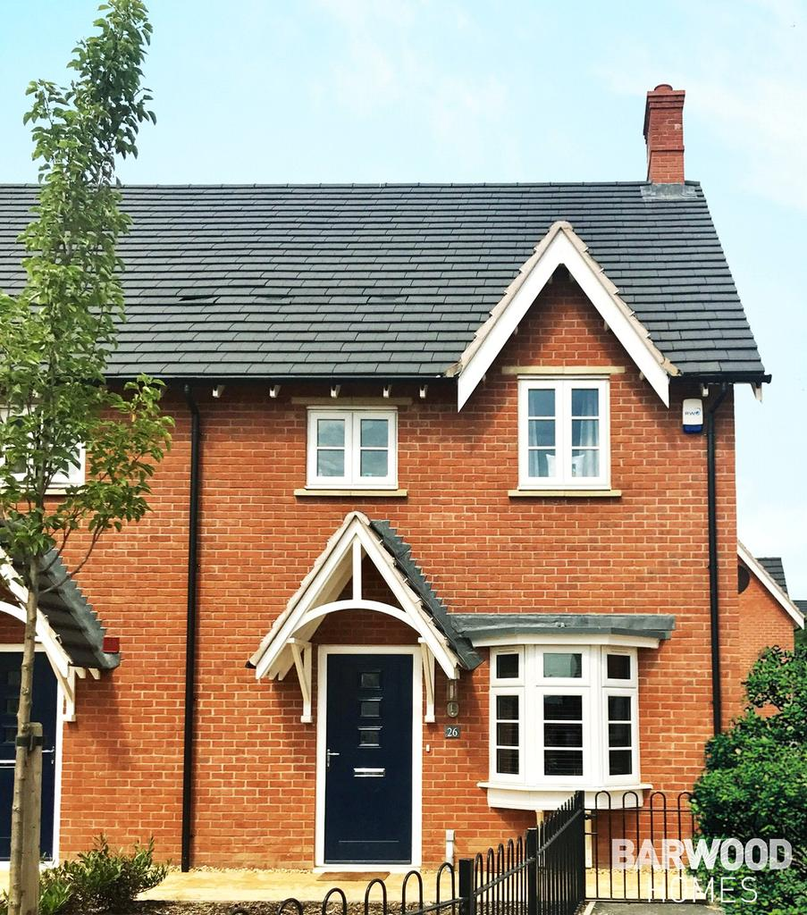 3 Bedrooms Semi Detached House for sale in The Waddesdon, Meadow View, Adderbury, Oxfordshire, OX17