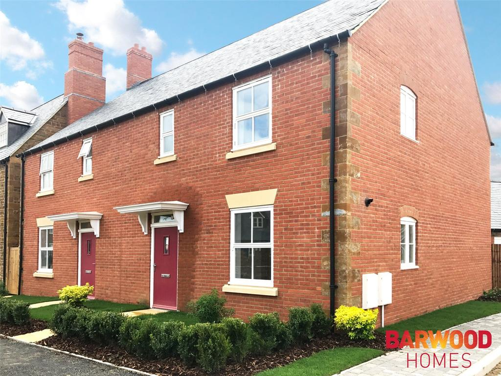 3 Bedrooms Semi Detached House for sale in Holdenby, Meadow View, Adderbury, Oxfordshire, OX17