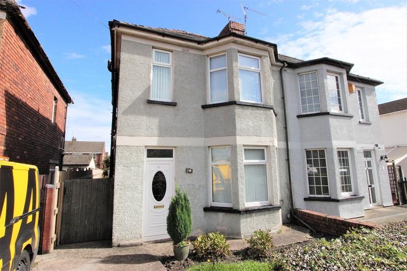 3 Bedrooms Semi Detached House for sale in Nash Road, Newport, Newport. NP19 4NJ