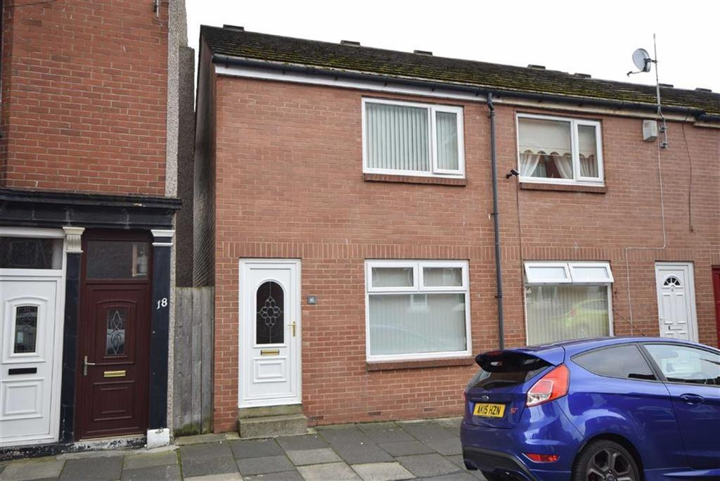 2 Bedrooms End Of Terrace House for sale in St Aidens Road, South Shields
