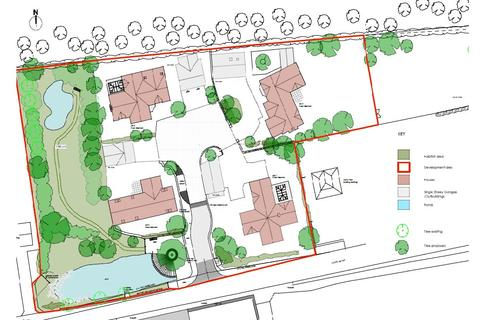 Plot for sale - The Street, Oaksey
