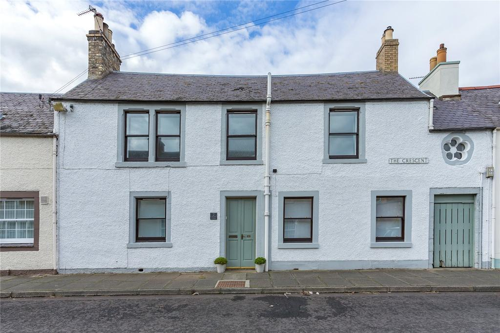 2 Bedrooms Terraced House for sale in Tweed Cottage, The Crescent, St Boswells, Melrose, Scottish Borders