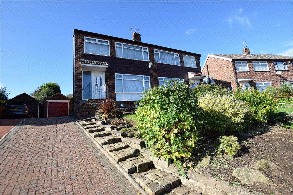 4 Bedrooms Semi Detached House for sale in Green Hill Gardens, Leeds, West Yorkshire