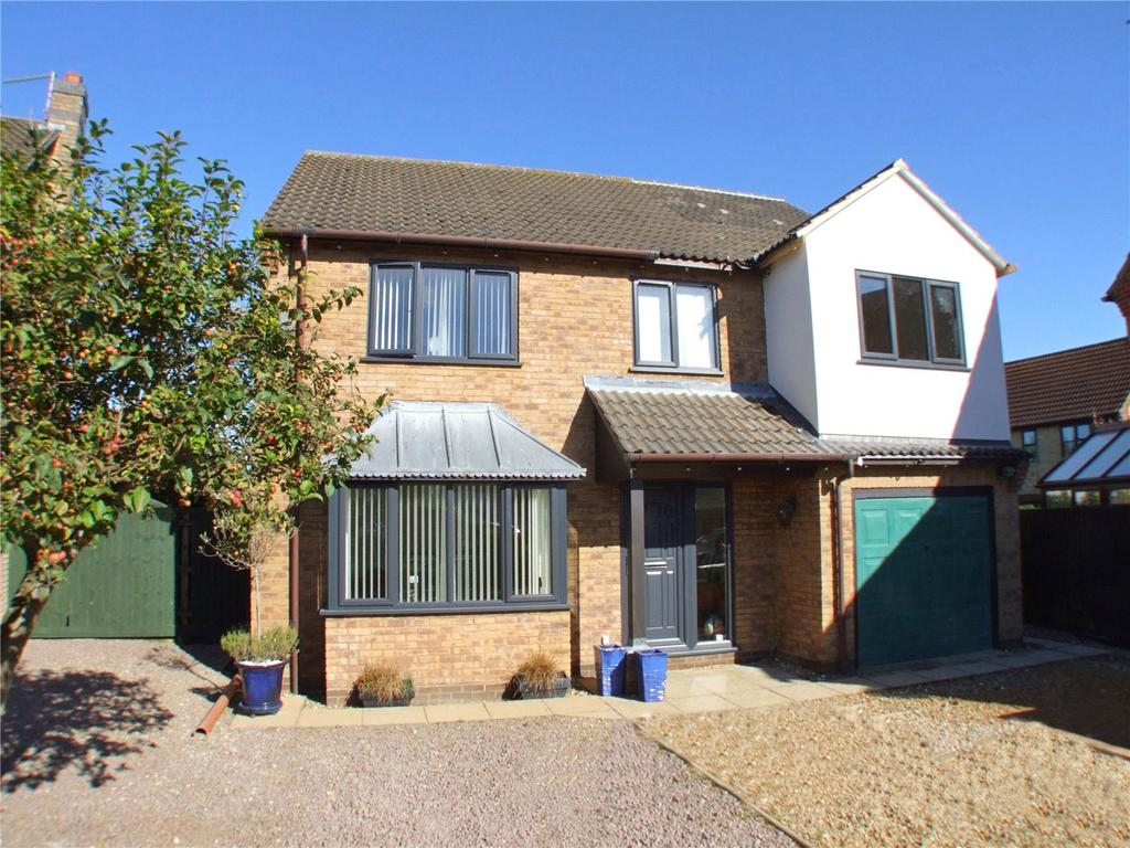 4 Bedrooms Detached House for sale in Frisby Close, Baston, Peterborough, PE6
